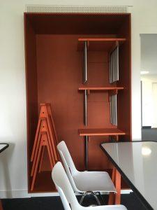 Removable whiteboard desks
