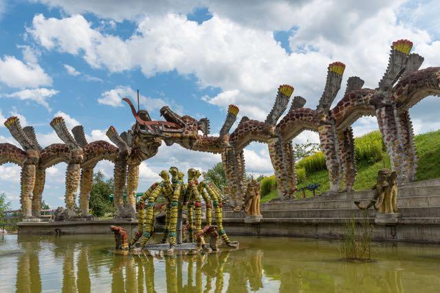 Bruno Weber Park Wassergarten